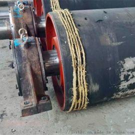 冷粘包胶皮带机滚筒厂家 现场修复皮带机滚筒