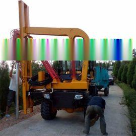 高速公路护栏打桩机 装载式打桩机厂家