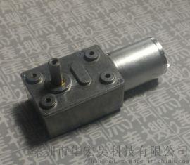 單出軸蝸輪蝸杆4632M370側出軸減速電機