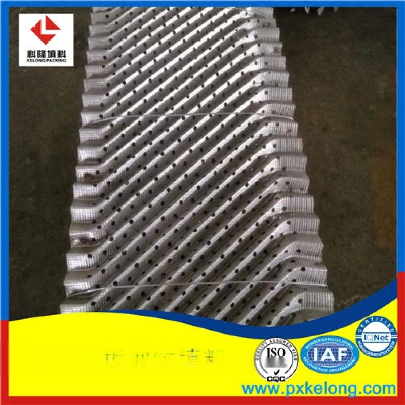 252Y孔板波纹填料比250Y波纹填料处理能力大