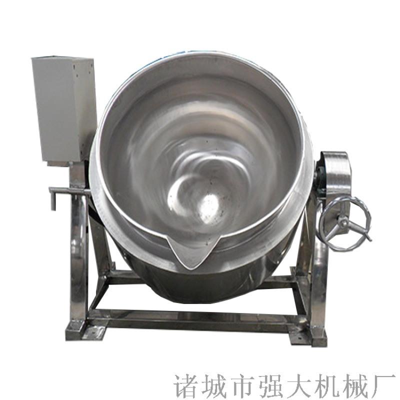 導熱油蠟燭夾層鍋 遼寧化工夾層鍋 帶攪拌煮鍋