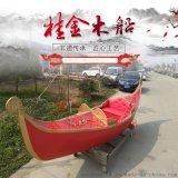 威尼斯 貢多拉 景區遊船 裝飾船 歐式木船 木船