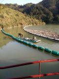 水电站带钢丝绳拦污索水面拦污浮筒厂家