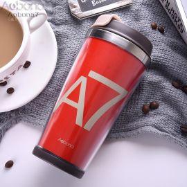 创意广告杯子可印广告星巴克水杯咖啡杯Tumbler
