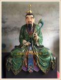 道教神像雕塑厂家,玻璃钢神像厂家|三清神像定做厂家