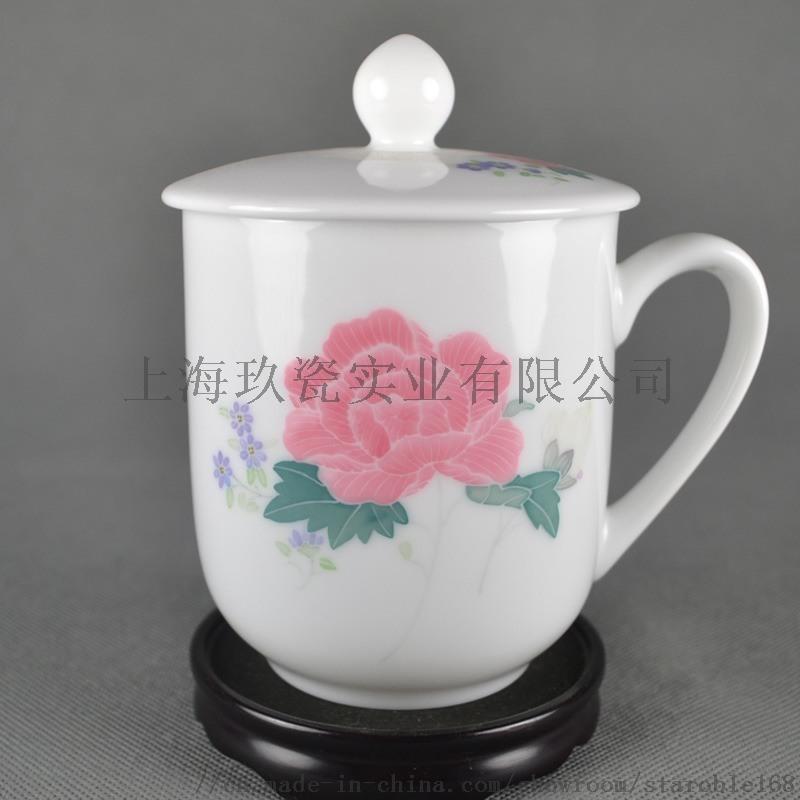 上海定制会议杯茶杯公司,礼品杯印刷LOGO