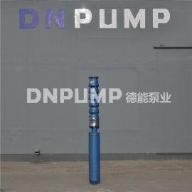 矿坑排水500方大流量潜水深井泵