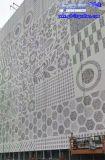 艺术冲孔铝单板 铝板文字图案冲孔 背景墙穿孔铝板