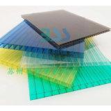 廠家直銷聚碳酸酯PC透明湖藍茶色陽光板