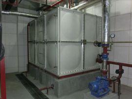 不锈钢地埋水箱 玻璃钢临时水箱 二维水箱标准尺寸