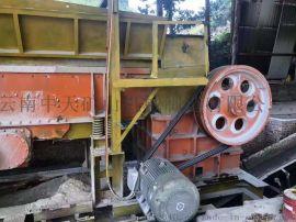 二手砂石料生产线设备58颚式破碎机制砂机低价**