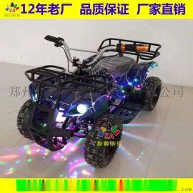 兒童電動沙灘車四輪廣場電動玩具廠家直銷
