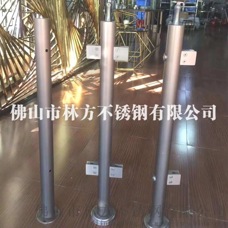 不锈钢方管扶手立柱 304不锈钢**工程立柱加工
