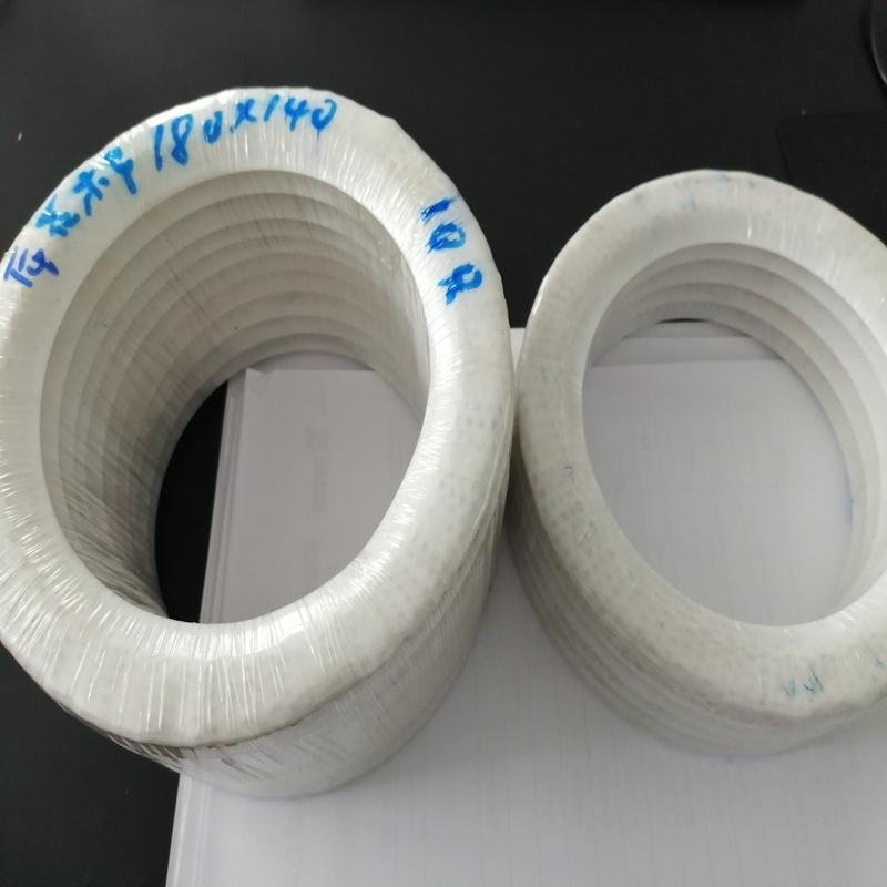 卓瑞密封出品搪玻璃上用四 夹石棉包覆垫片