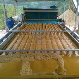 全自动带式压滤机型号配置 节能污泥压泥机设备直销