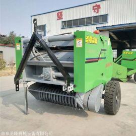 稻草秸秆打包机,圆捆的机械操作说明