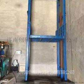 物流专用升降机 电动液压升降平台 厂房货梯 导轨式升降机