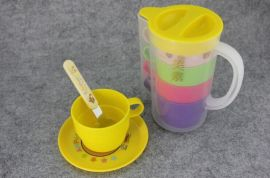 广告促销礼品套杯冷水杯塑料杯