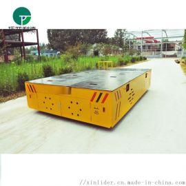 平板胶轮拖车 无轨磨具周转车可铺设橡胶防滑垫