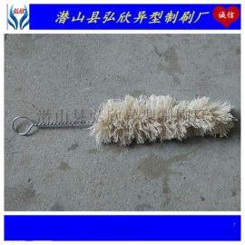 厂家直销工业棉纱清洁毛刷 弘欣机械管件清孔扭丝棉线刷