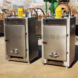 全自动熟食糖熏炉供应不锈钢乳鸽糖熏烘烤上色炉