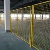 沃達倉庫鐵絲網隔離  車間隔離網 倉庫隔離柵
