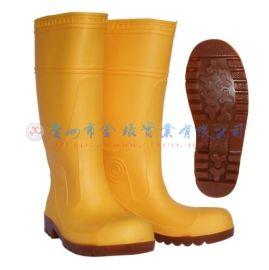 钢头钢底板防护雨鞋(803)
