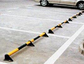 停车场2寸不锈钢管车位挡轮杆