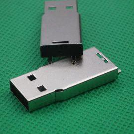 现货供应蓝牙接收器U盘小狗铁壳笔记本移动接鼠标连接器U盘外壳