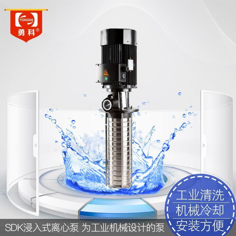 SDK2浸入式離心泵  工業機牀冷卻迴圈水泵