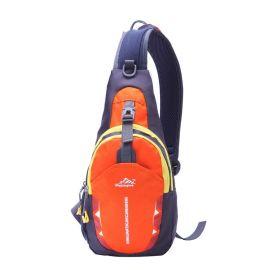 户外多功能新款纯色胸包 防水尼龙挎包户外运动大容量休闲包胸包