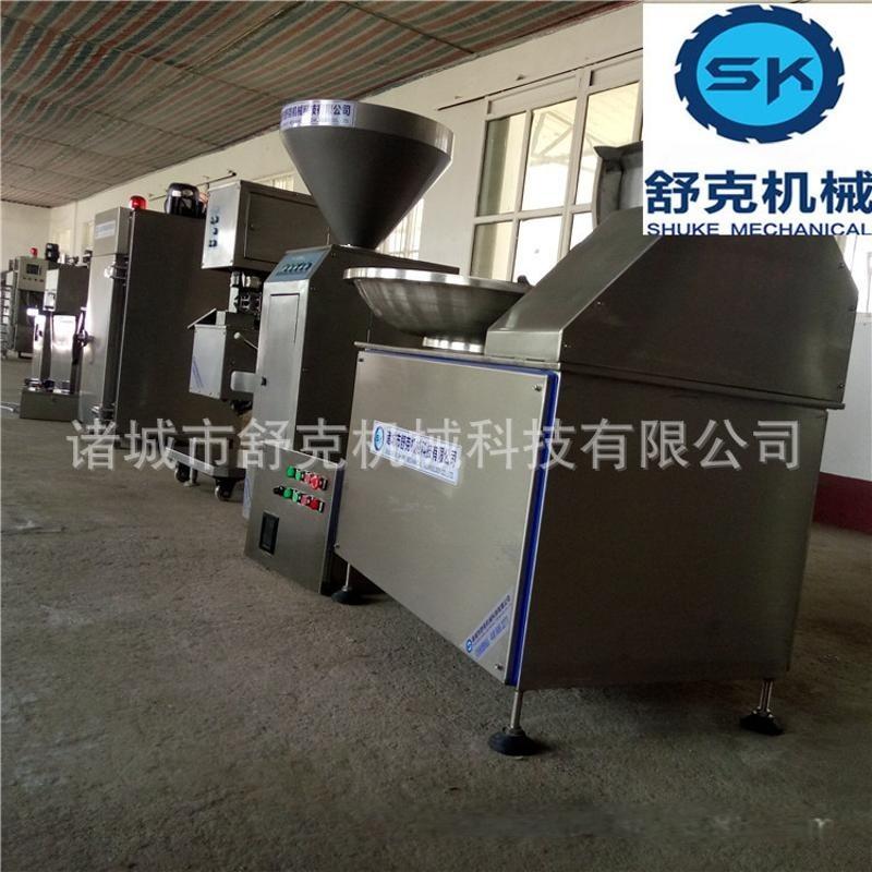 生产热狗设备 成套台烤生产机器 灌肠机 香肠设备