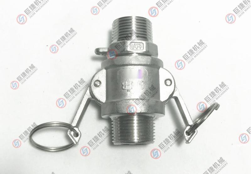 F型快速接头 不锈钢快速接头 304快速接头 316 铝合金快速接头