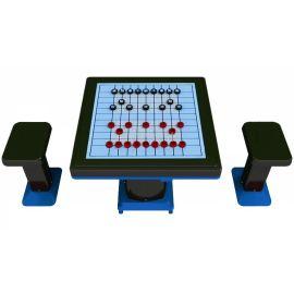 伟克【新款室外健身器材】轨道式中国象棋