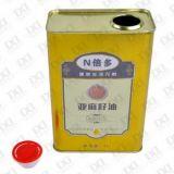 2L橄欖油包裝鐵罐(138*88*205mm)