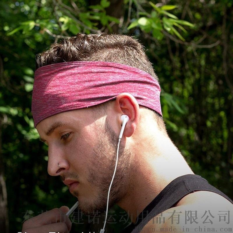 可調節頭圍尺寸的運動導汗帶