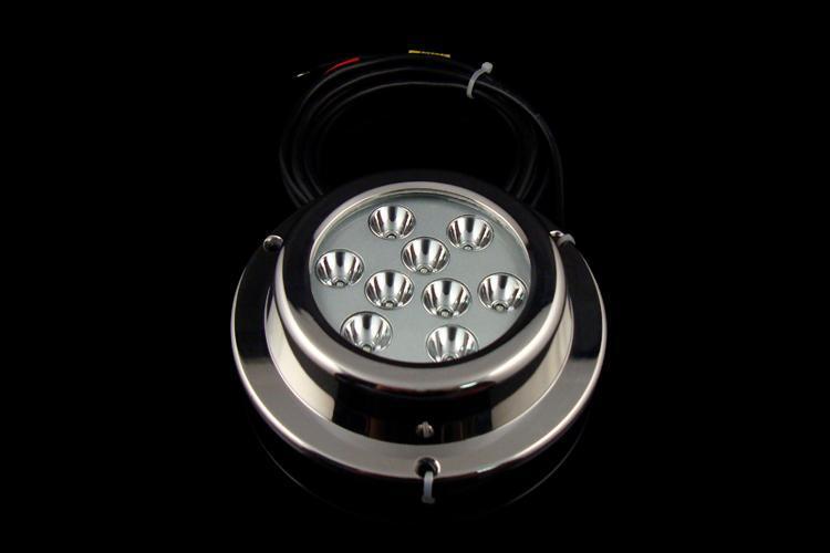 LED船用游艇灯TD6A1 厂家正远热销 直供大功率水底灯水下灯 9X3W