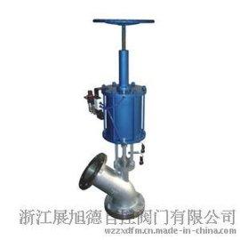 供应ZXDA气动放料阀FL641W、气动带手动放料阀、气动下展式放料阀、气动上展式放料阀,反应釜放料阀