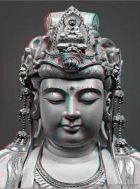 山西供应三维立体佛像装饰画大型三维立体宗教装饰画加工订制