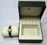 东莞佰盛包装 高档方形单支手表盒  充皮纸手表盒