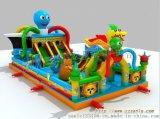章魚充氣大滑梯  貴州遵義兒童充氣滑梯多少錢