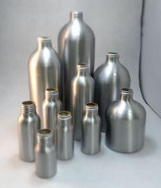 厂价供应各种尺寸金属瓶子 螺口铝瓶 化妆品包装瓶 化工瓶 精油瓶