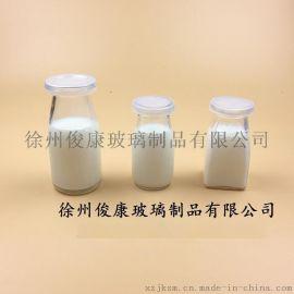 布丁玻璃瓶奶吧工具食品包装