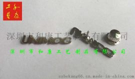 环保优质合金材质字母镂空金属徽章制作