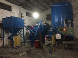 厂家生产全自动干粉砂浆搅拌机 砂浆设备 自流坪砂浆生产线