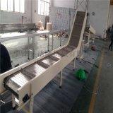 德隆厂家直销,链板传送带,不锈钢板链式输送机(专业品质)