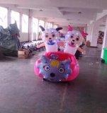 广场热门儿童游乐设备喜洋洋气模车充气电瓶车经营