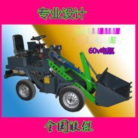 开封电动铲车轮式电动装载机地下室电瓶铲车全国发货