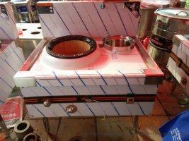 创冠厂家定做批发各种醇油炒灶.大锅灶.醇油蒸包炉. 煮面炉醇油海鲜蒸柜。。