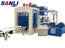 三利YQ8-15型砌块砖机-全自动液压砖机